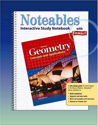 Geometry: Concepts and Applications, Noteables