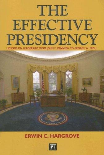 Download The Effective Presidency