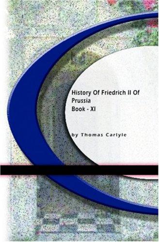 History Of Friedrich II of Purssia