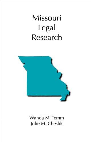 Missouri Legal Research