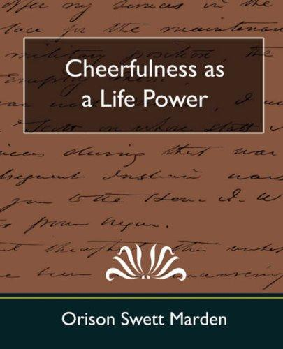Download Cheerfulness as a Life Power