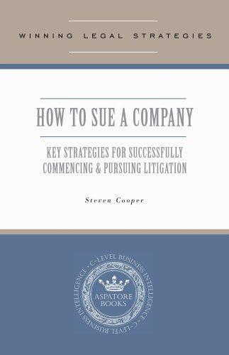 Download Winning Legal Strategies