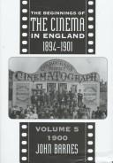 Download The beginnings of the cinema in England