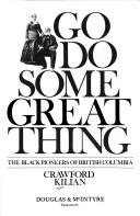 Go do some great thing