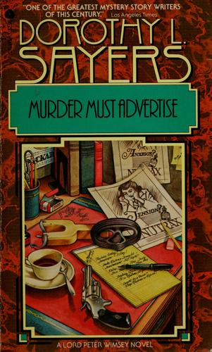 Murder must advertise.