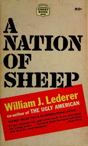 a nation of sheep by william j  lederer