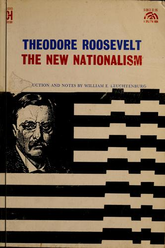 Download The new nationalism.