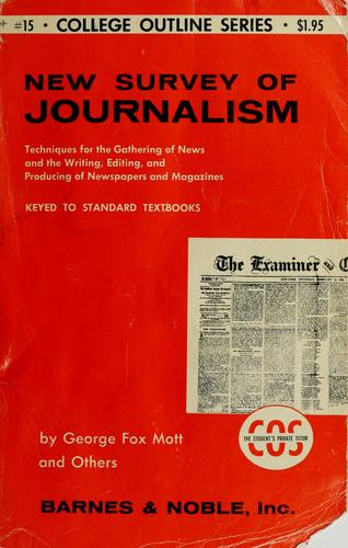 New survey of journalism