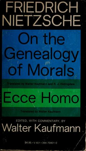 Download On the genealogy of morals.