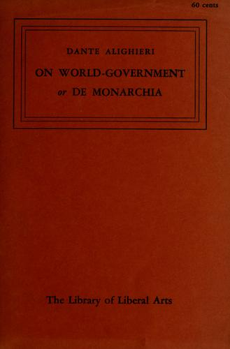 Download On world-government