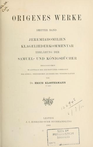 Download Origenes Werke.