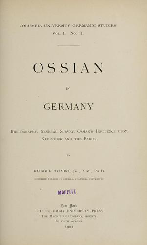 Download Ossian in Germany