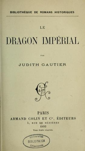 Download Le dragon impérial