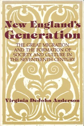 New England's generation
