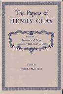Download The Papers of Henry Clay