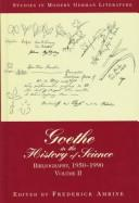 Download Goethe in the History of Science