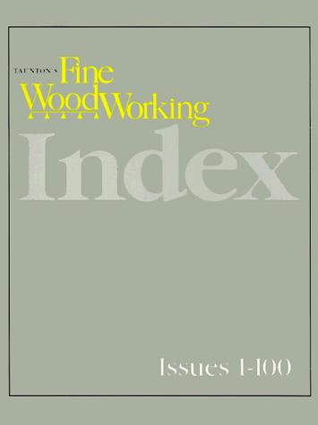 Download Taunton's fine woodworking index