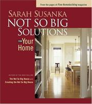 Not So Big Solutions For Your Home PDF Download