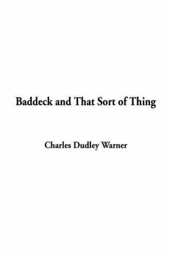 Download Baddeck and That Sort of Thing