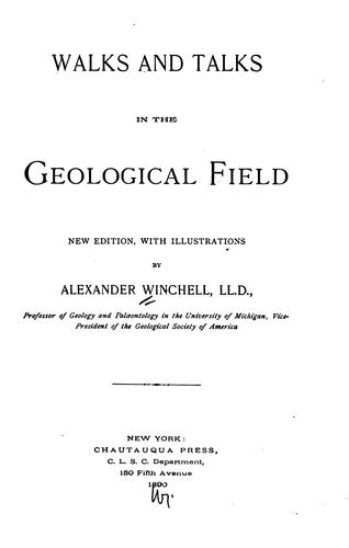 Walks and Talks in the Geological Field