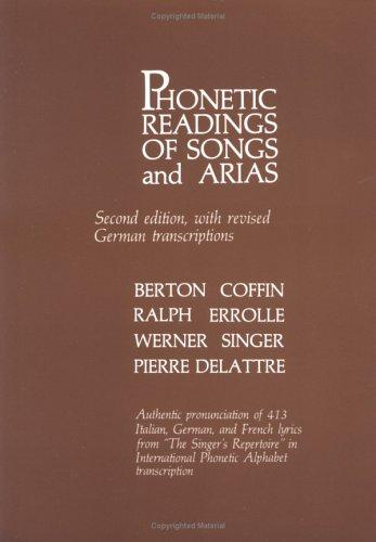 Download Phonetic Readings of Songs and Arias