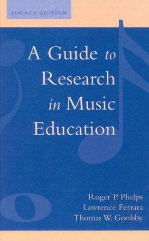 Download A guide to research in music education