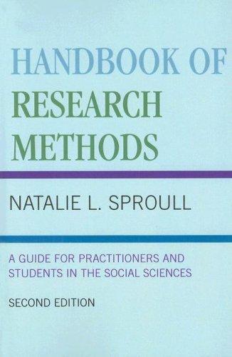 Download Handbook of Research Methods