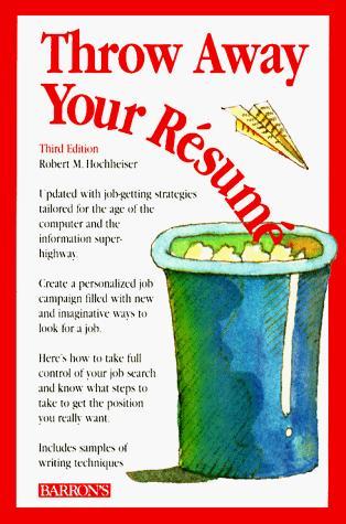 Throw away your résumé
