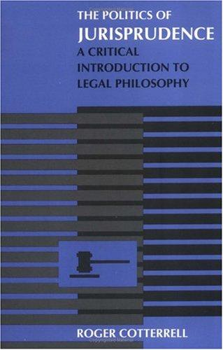 The politics of jurisprudence
