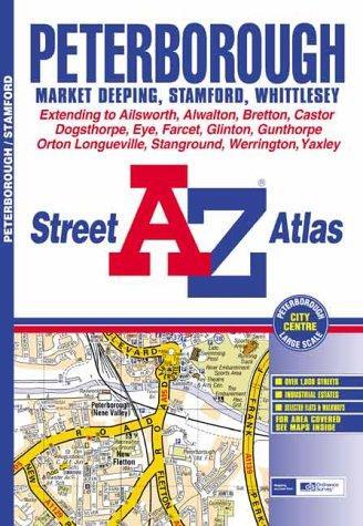 A-Z Peterborough Street Atlas