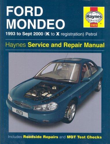 Download Ford Mondeo Service and Repair Manual (Haynes Service and Repair Manuals)