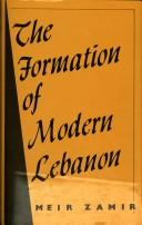 Download The formationof modern Lebanon