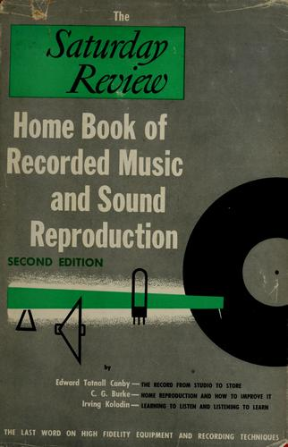 The Saturday review home book of recorded music and sound reproduction