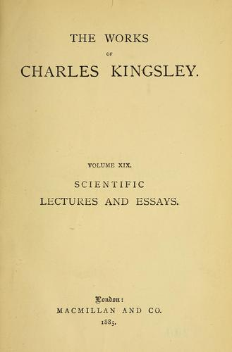 Scientific lectures and essays.