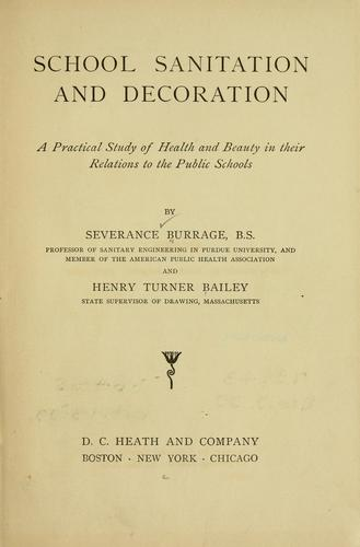 School sanitation and decoration