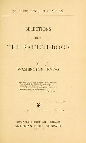 Download Selections from the sketch-book