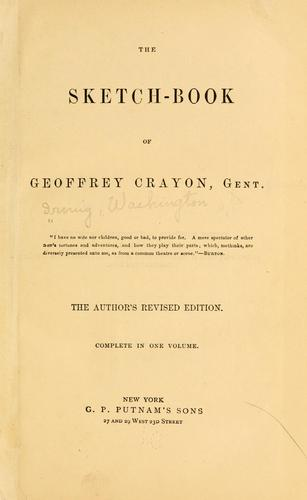Download The sketch-book of Geoffrey Crayon, gent. …