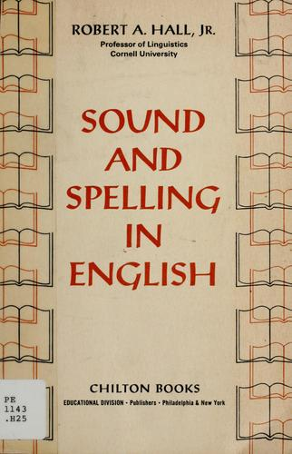 Download Sound and spelling in English.
