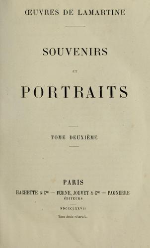 Download Souvenirs et portraits.