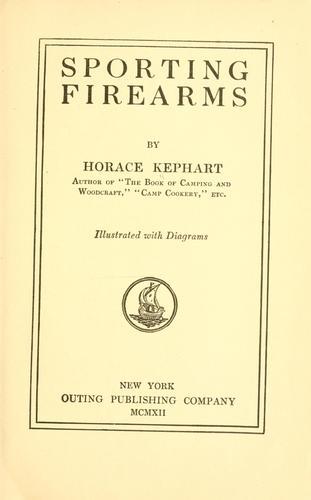 Download Sporting firearms