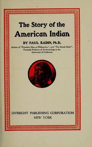 Download The story of the American Indian