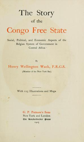 Download The story of the Congo Free State