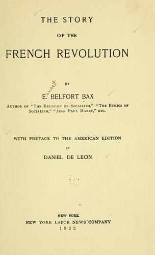 The story of the French revolution