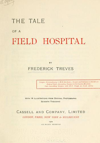 Download The tale of a field hospital