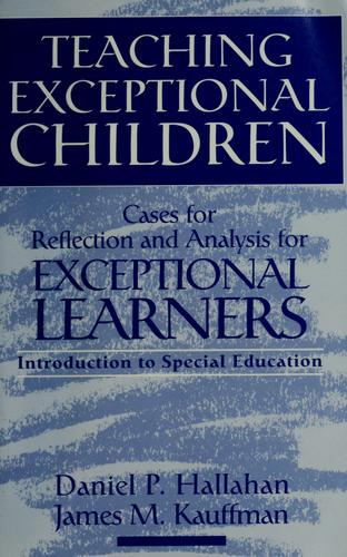 Teaching exceptional children