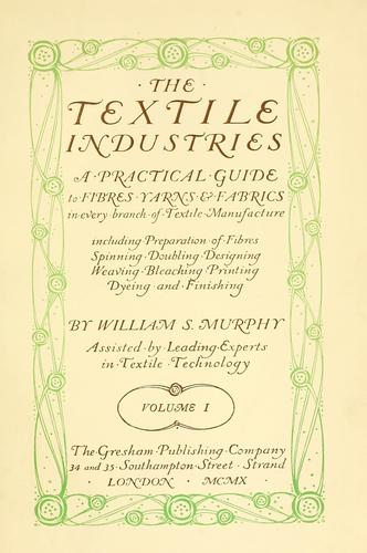 The textile industries.