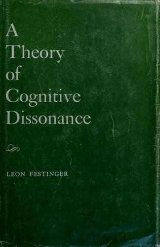 A theory of cognitive dissonance.