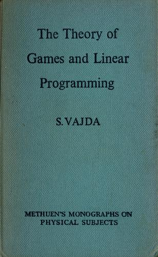 Download The theory of games and linear programming.