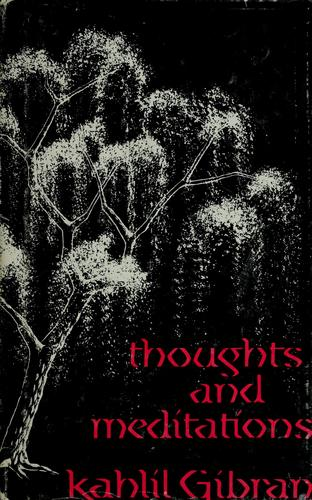 Download Thoughts and meditations.