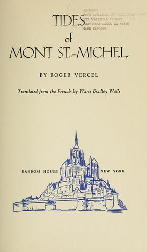 Download Tides of Mont St.-Michel.